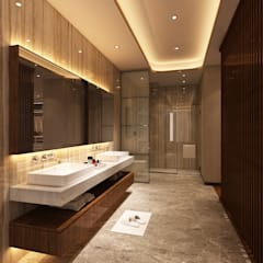 Bathroom by Alpha Details,