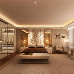 Suite Penthouse Geneva Quartos clássicos por Alpha Details Clássico