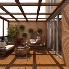 Balcony by Alpha Details, Modern