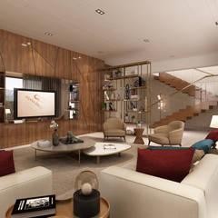 غرفة المعيشة تنفيذ Alpha Details , حداثي
