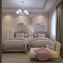 Girls Bedroom by Archeffect,