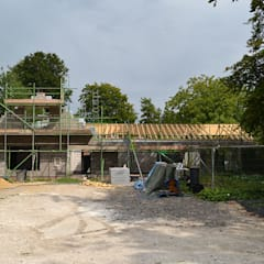 New-Build House - Old Barn:  Country house by Storyboard Architects Ltd,