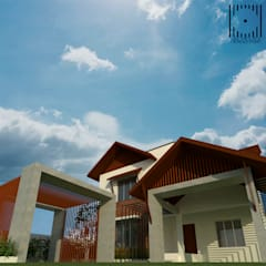 فيلا تنفيذ ARCHIDUEX-THE DESIGN STUDIO