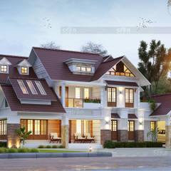 Villa oleh CreoHomes Pvt Ltd