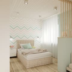 Girls Bedroom by BAUART INTERIOR DESIGN,