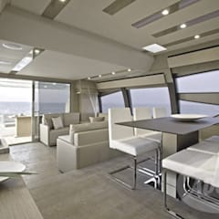 Yacht planks - Country Decapé oak floor توسط Cadorin Group Srl - Top Quality Wood Flooring مدرن