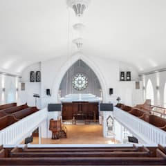 Christ Church :  Commercial Spaces by Hart Design and Construction , Modern