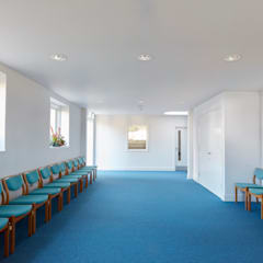 Christ Church Modern commercial spaces by Hart Design and Construction Modern