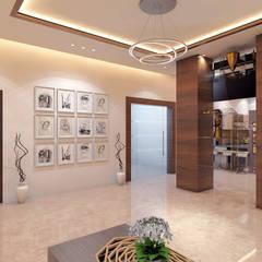 Gurugram Residential:  Walls by Petals Art Decor,Modern