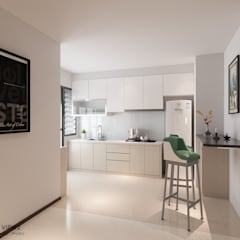 Canberra Crescent Modern kitchen by Swish Design Works Modern Plywood