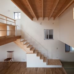 Stairs by FUMIASO ARCHITECT & ASSOCIATES/ 阿曽芙実建築設計事務所, Eclectic