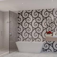 حمام تنفيذ Deborah Garth Interior Design International (Pty)Ltd,