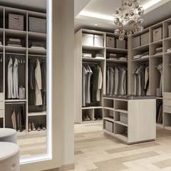 Dressing room by De Panache  - Interior Architects, Modern