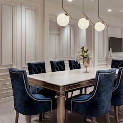 Dining room by De Panache  - Interior Architects, Classic