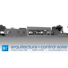 Casas: Casas de campo de estilo  por GL2 Arquitectura y Control Solar,Minimalista Concreto reforzado