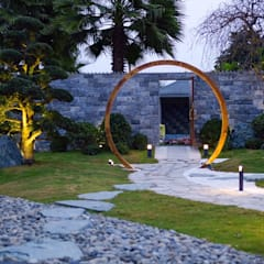 Thiết Kế Sân Vườn Nhật Zen'flowe:  Vườn thiền by SGL LANDSCAPE ARCHITECTURE CO.,LTD,