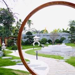 حديقة Zen تنفيذ SGL LANDSCAPE ARCHITECTURE CO.,LTD , أسيوي