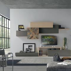 Ruang Keluarga oleh Idea Stile, Modern
