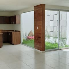 Conservatory by EM  Arquitectura, Minimalist Wood Wood effect