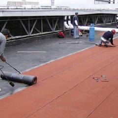 Roof terrace by Vez Rodriguez Construcción y Mantenimiento.,