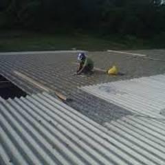 سقف جمالون تنفيذ Vez Rodriguez Construcción y Mantenimiento. , صناعي