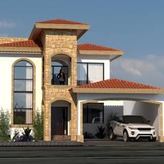 Haciendas de estilo  por acadia arquitectos,