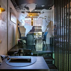 Loja NL-Imobiliária: Escritórios e Espaços de trabalho  por ImofoCCo - Fotografia Imobiliária,Moderno