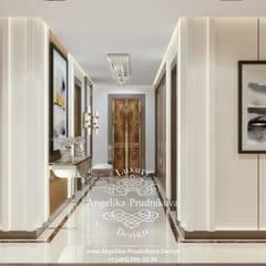 Дизайн-проект интерьера квартиры в ЖК BARRIN HOUSE в стиле лофт: Коридор и прихожая в . Автор – Дизайн-студия элитных интерьеров Анжелики Прудниковой, Лофт