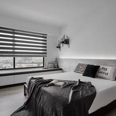 غرفة نوم تنفيذ 艾文設計有限公司, تبسيطي
