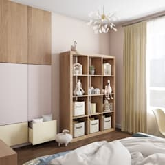 Nursery/kid's room by «Студия 3.14»,