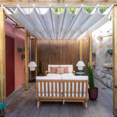 Harbour Inn, Guest House - Projeto SHI Studio Interior Design Varandas, marquises e terraços modernos por SHI Studio, Sheila Moura Azevedo Interior Design Moderno