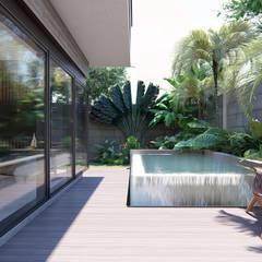 Pool by KAD Arquitectos, Minimalist