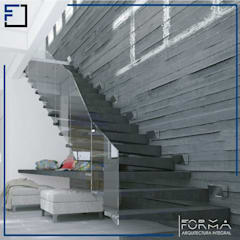 Stairs by FORMA Arquitectura Integral, Minimalist