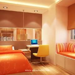 Sahid Sudirman Residence: Kamar tidur kecil oleh ADEA Studio,