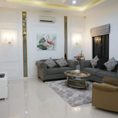 Interior Citra Klasik: Ruang Keluarga oleh PT Membangun Harapan Sukses,