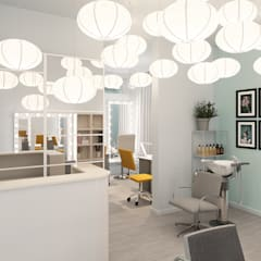 Commercial Spaces by SJull Design, Eclectic