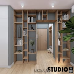 Corridor & hallway by MIKOŁAJSKAstudio ,