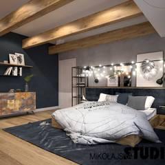 Bedroom by MIKOŁAJSKAstudio ,