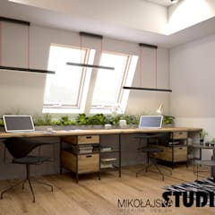 Study/office by MIKOŁAJSKAstudio ,