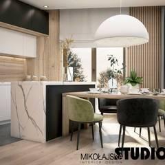 Apartament nr 333: styl , w kategorii Kuchnia zaprojektowany przez MIKOŁAJSKAstudio ,