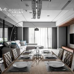 Phòng ăn theo 木博士團隊/動念室內設計制作, Hiện đại