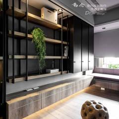Phòng học/văn phòng phong cách hiện đại bởi 木博士團隊/動念室內設計制作 Hiện đại
