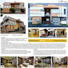 Bungalows by RAVI - NUPUR ARCHITECTS,