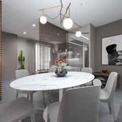 Dining room by studiosagitair, Colonial