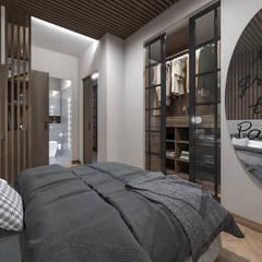 غرفة نوم تنفيذ studiosagitair , إستعماري