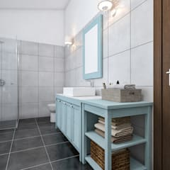 Bathroom by studiosagitair,