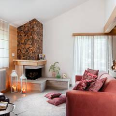 Ruang Keluarga oleh manuarino architettura design comunicazione, Minimalis Kayu Wood effect