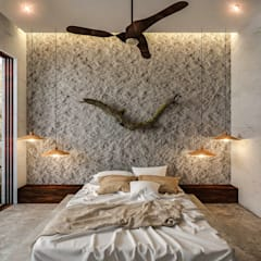 Small bedroom توسطNATALIA MENACHE ARQUITECTURA, مدرن