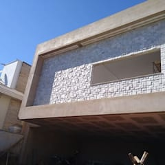 W e R Pedras Decorativas:  tarz Bitişik ev,