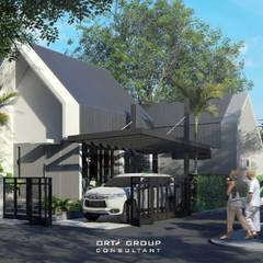 MRE HOUSE: Rumah tinggal  oleh ORTA GROUP, Modern Beton